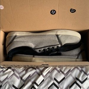VANS shoes gray and black